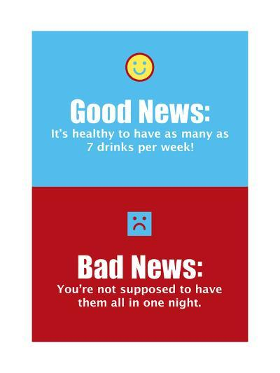 Good News, Bad News--Art Print