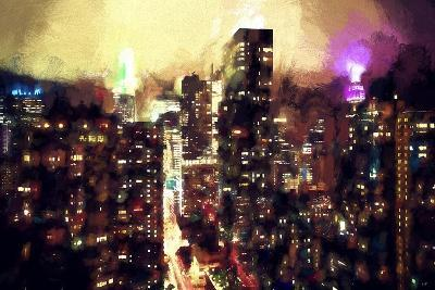 Good Night Manhattan-Philippe Hugonnard-Giclee Print