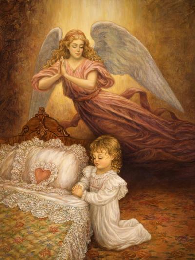 Good Night Prayer-Edgar Jerins-Giclee Print