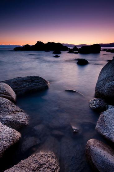 Good Night, Tahoe-photograph by Quan Yuan-Photographic Print