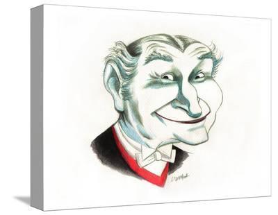 Good Ole Gramps-Bob Lizarraga-Stretched Canvas Print