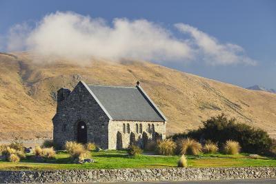 Good Shephard Church, Chapel, Lake Tekapo, Canterbury, South Island, New Zealand-Rainer Mirau-Photographic Print