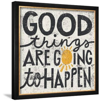 Good Things are Going to Happen-Michael Mullan-Framed Giclee Print
