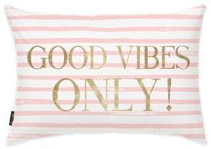 Good Vibes! Throw Pillow