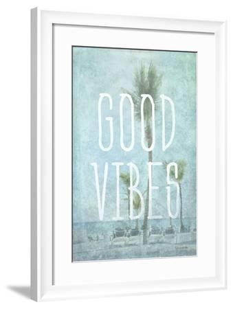 Good Vibes-Romona Murdock-Framed Art Print