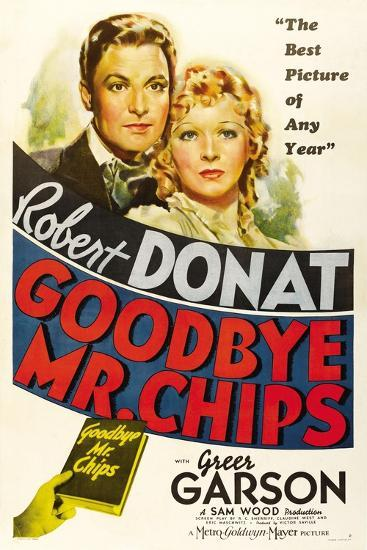 Goodbye, Mr. Chips, 1939--Giclee Print
