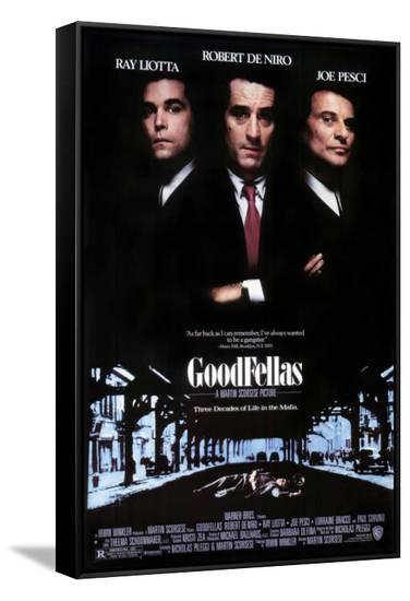 Goodfellas--Framed Canvas Print