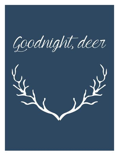 Goodnight Deer-Jetty Printables-Art Print
