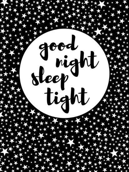 Goodnight-Nanamia Design-Art Print