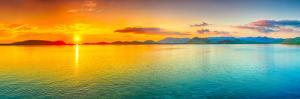 Sunrise Over The Sea. Panorama by GoodOlga