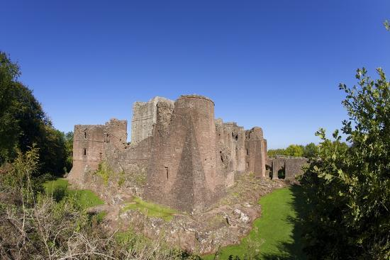 Goodrich Castle, Forest of Dean, Herefordshire, England, United Kingdom, Europe-Peter Barritt-Photographic Print