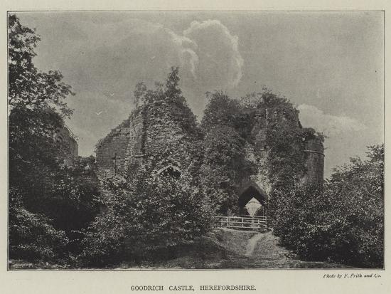 Goodrich Castle, Herefordshire--Giclee Print