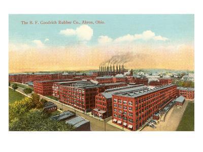 Goodrich Rubber Company, Akron, Ohio--Art Print