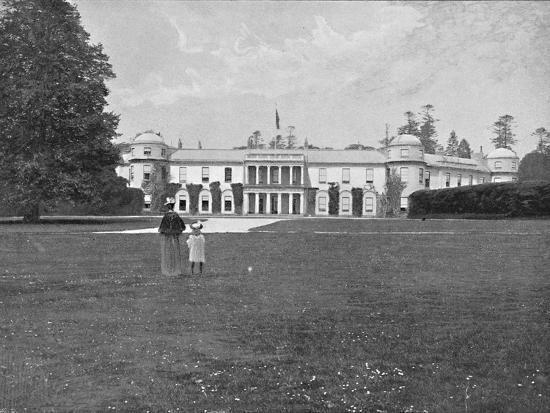 'Goodwood House, Sussex', c1896-Unknown-Photographic Print
