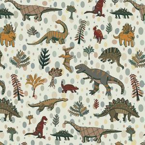 Dinosaur Pattern by GooseFrol