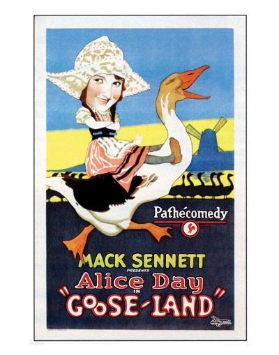 Gooseland - 1926--Giclee Print