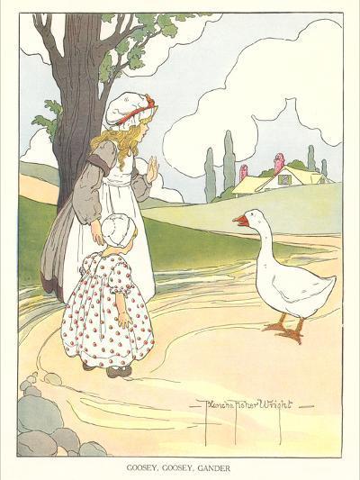 Goosey, Goosey Gander--Art Print