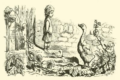 Goosey, Goosey Gander--Giclee Print