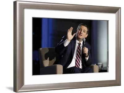 GOP 2016 Cruz-Mark Humphrey-Framed Photographic Print