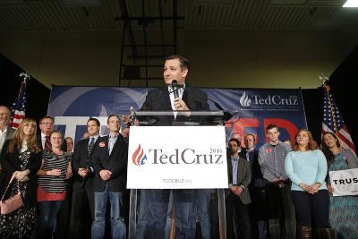 GOP 2016 Cruz-John Locher-Photographic Print