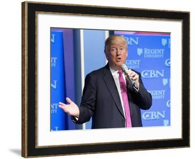 GOP 2016 Trump-Steve Helber-Framed Photographic Print