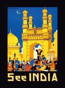 "See India - Charminar ""Mosque of Four Minarets"" Monument, Hyderabad, India by Gopal Damodar Deuskar"