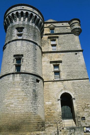 Gordes Castle--Giclee Print
