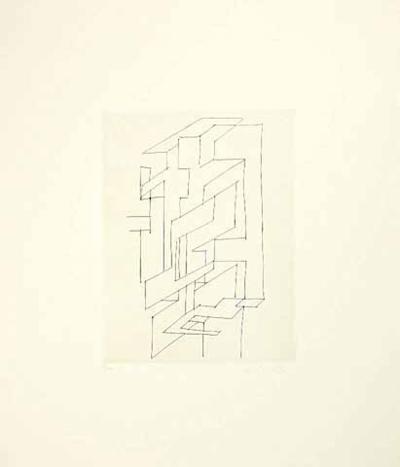 Gordes Gestalt-Victor Vasarely-Limited Edition