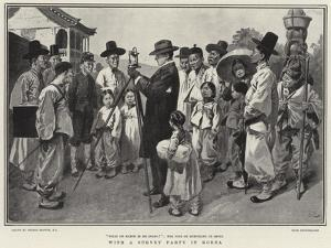 With a Survey Party in Korea by Gordon Frederick Browne