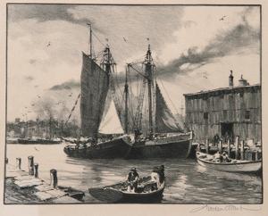 Fisherman's Haven by Gordon Grant
