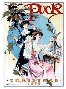Puck Christmas 1908 by Gordon Grant