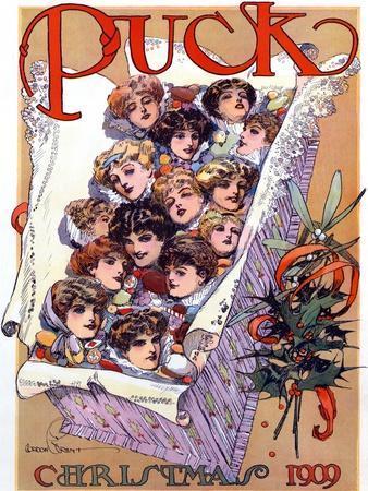 Puck Christmas 1909