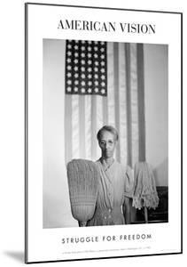 American Gothic, 1942 (Struggle for Freedom) by Gordon Parks