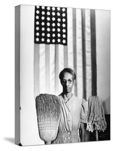 American Gothic, 1942 by Gordon Parks