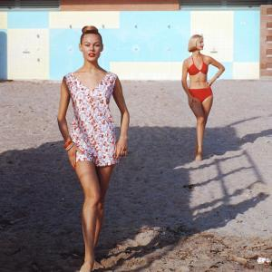 Beach Fashions by Gordon Parks