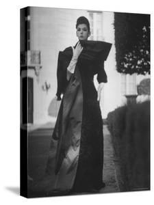 Evening Dress Designed by a California Designer by Gordon Parks