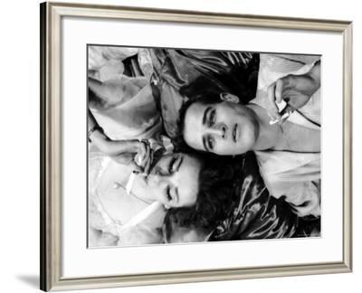 Geraldine Page and Paul Newman in a Scene from Sweet Bird of Youth