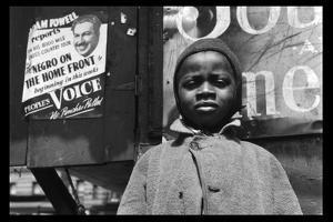 Harlem Newsboy by Gordon Parks