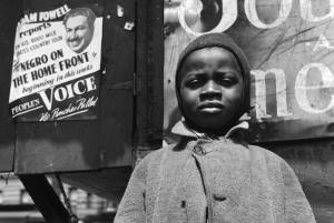 Harlem Newsboy by Gordon Parks