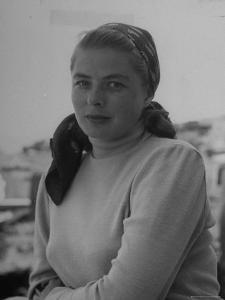 Ingrid Bergman, During the Filming of Stromboli by Gordon Parks