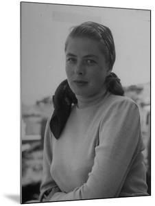 Ingrid Bergman, During the Filming of Stromboli by Gordon Parks