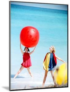 June 1956: Girls Modeling Beach Fashions in Cuba by Gordon Parks