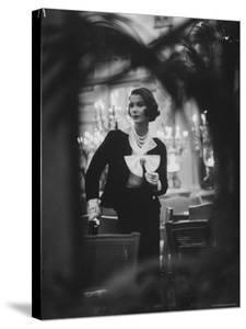 Model Wearing Latest Spring Fashions by Gordon Parks