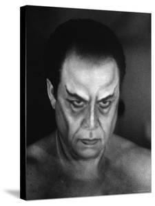 """Operatic Bass Baritone George London for the Role of Mephistopheles in Gounod's Opera """"Faust"""" by Gordon Parks"""