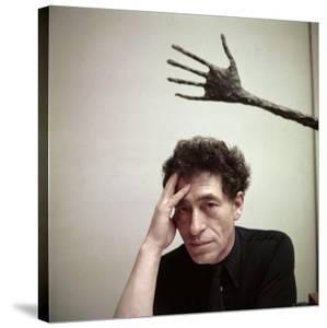 Portrait of Alberto Giacometti in His Studio by Gordon Parks