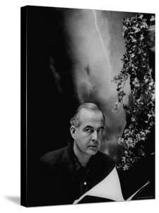 Portrait of Composer Samuel Barber by Gordon Parks
