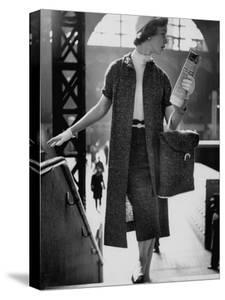 Small Bag Wardrobe Fashion by Gordon Parks
