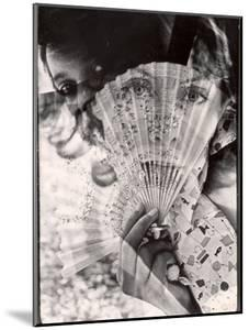 Superimposed Image Used as Symbolic Interpretation of Poem 'The Truth About the Dew' by John Bishop by Gordon Parks