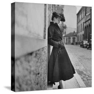 Woman Modeling a Back Flared Skirt by Gordon Parks