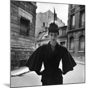 Woman Modeling a Full Sleeved Suit by Gordon Parks